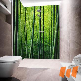 Bambuswald Grün