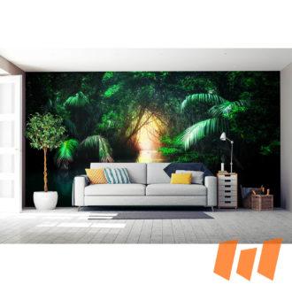 Amazonas Dschungel Urwald Grün