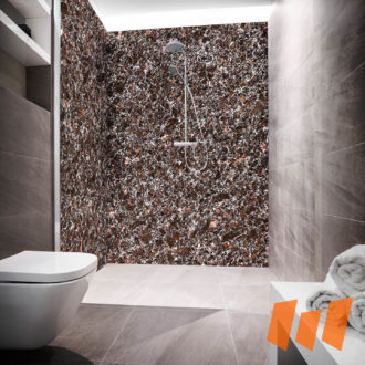 Granit Mineralgestein Braun