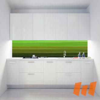 Abstrakt Streifen Malerei Grün