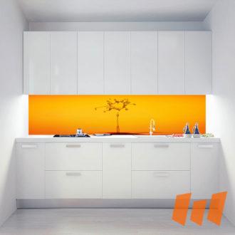 Wassertropfen Tropfen Orange