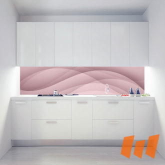 Wellenglück Wellen Abstrakt Rosé