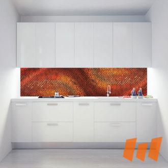 Gemälde Kunst Rostig Rotstufen Abstrakt